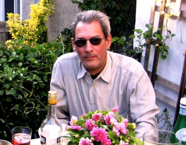 Paul Auster en su casa de Brooklyn (foto V-M)
