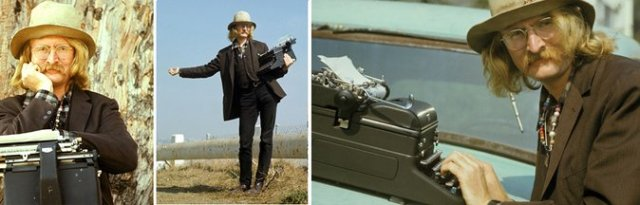 Richard Brautigan en tres imágenes de 1971
