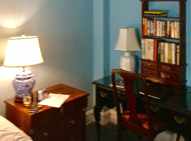 Interior del Roger Smith Hotel, de Nueva York.