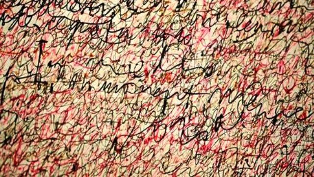 caligrafía para nada