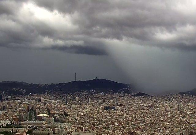 Barcelona, lluvia del 16 de julio 2018
