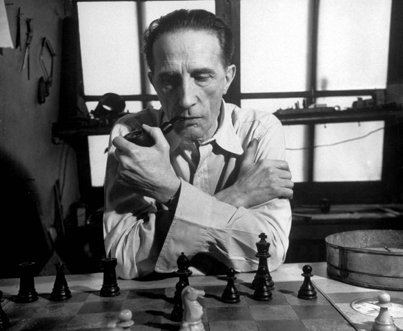 Duchamp, inevitable.
