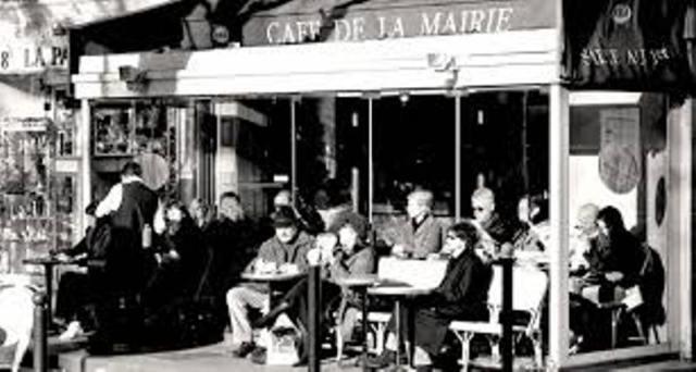 Café de la Mairie.