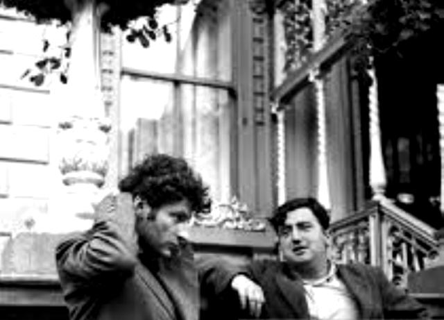 Lucien Freud and Brendan Behan
