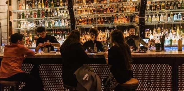 bar en Palermo, Buenos Aires.