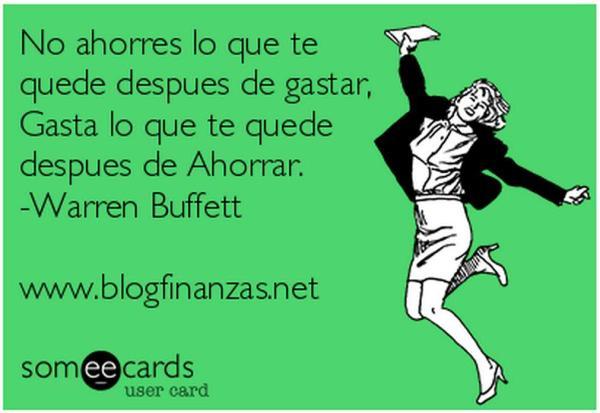 Ahorros - Warren Buffet