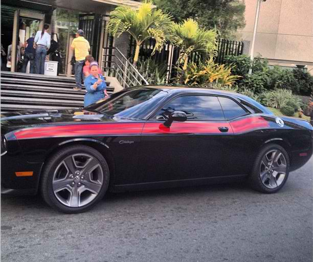 Clipboard0129 Daniel Padilla Buys 3 Million Black 'Dodge Challenger' Sportscar