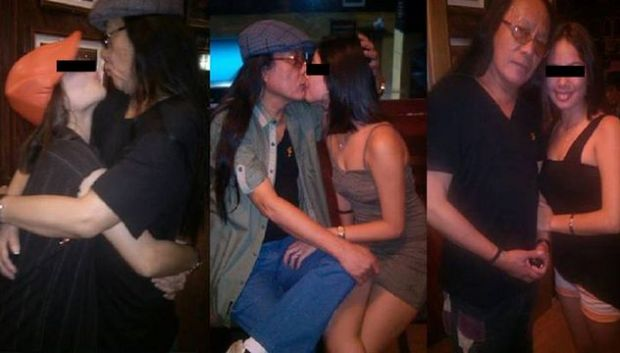 Freddie Aguilar 16 year old gf Freddie Aguilar kissing 16 y/o girlfriend
