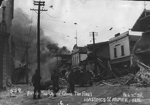 Napier Earthquake