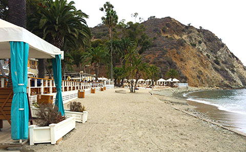 Catalina beach