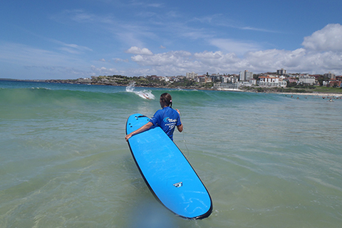 Bondi, Sydney, surf