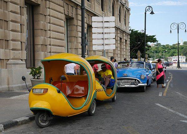 Cocotaxi in Havana