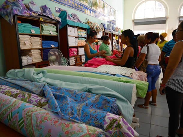 Fabric shop Cuba