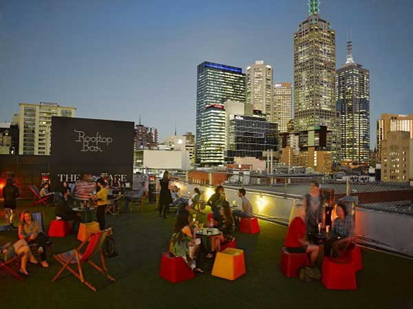 Melbourne rooftop bar