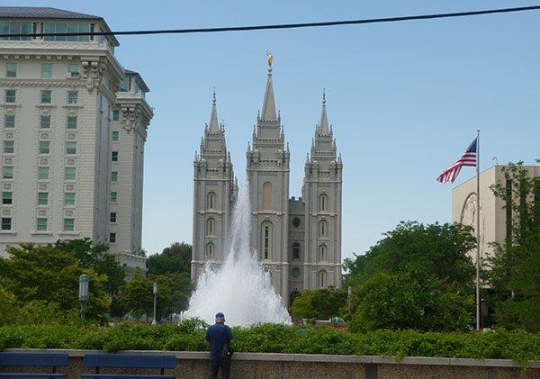Mormon Temple Salt Lake City