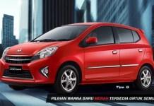 Free Test Drive Toyota Agya 2016