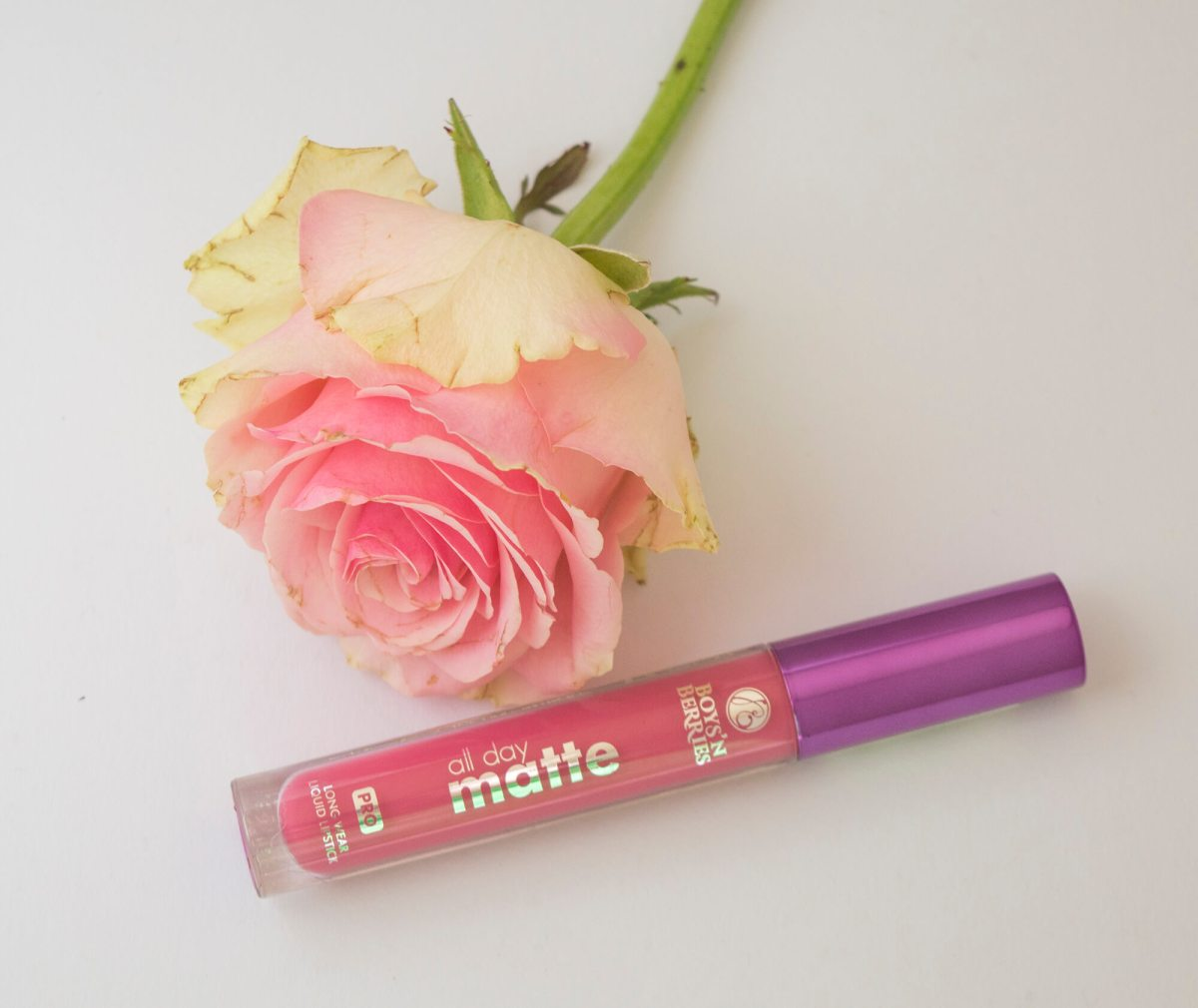 The most resistant liquid lipstick I ever tried: Boys'n'Berries All Day Matte