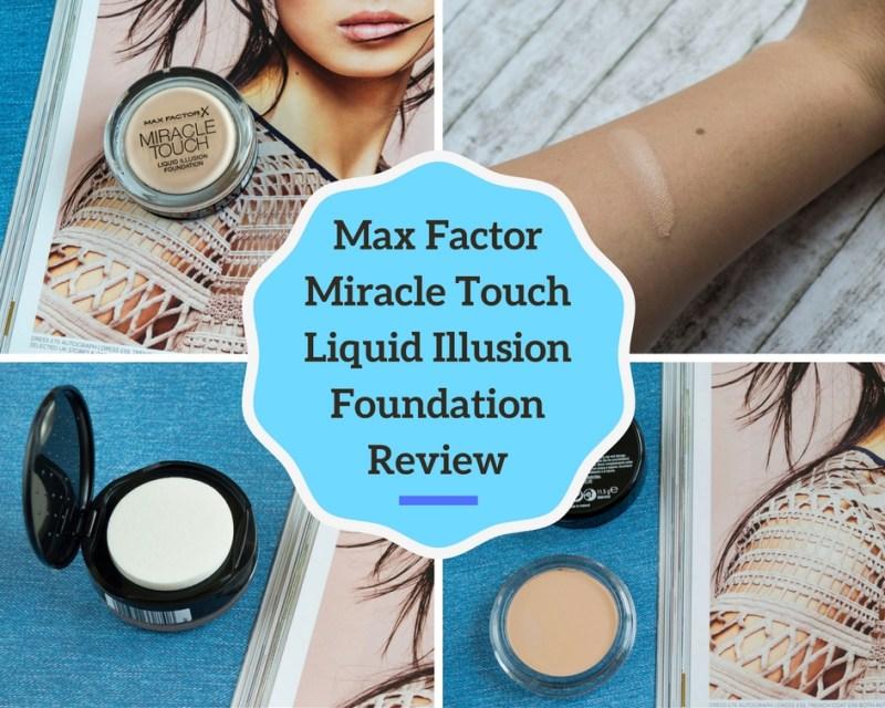 Max Factor Liquid Illusion Foundation