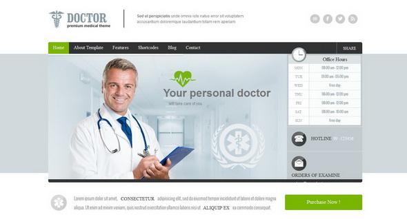 30+ Best Medical Wordpress Themes For Health Blogs Blogger Tips