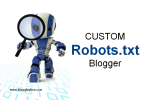 How to Create and add Robots code in Blogger?