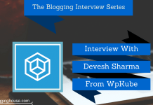 Interview With Devesh Sharma