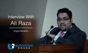 Interview with Ali Raza