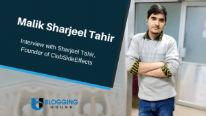Interview With Malik Sharjeel Tahir