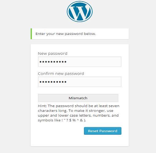 how to get pass forgotten password