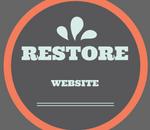 restore website from backup