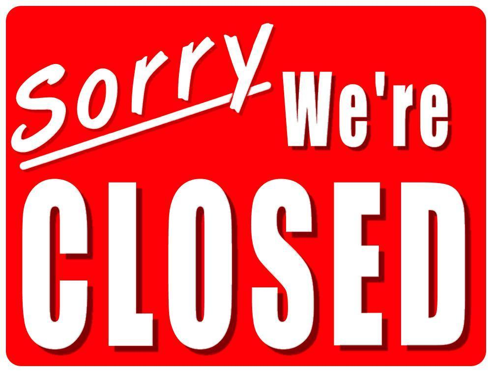 Should You Close comments on Older Blog Posts? - holiday signs for closing office