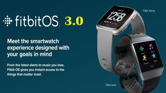 Fitbit OS 3.0 Operating System Features