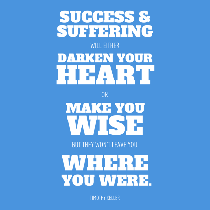 success and suffering