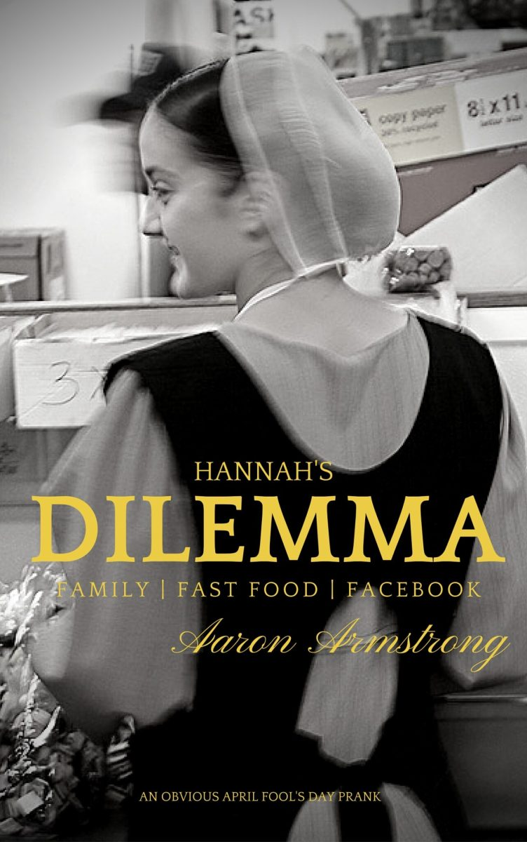 Announcing my next book: Hannah's Dilemma