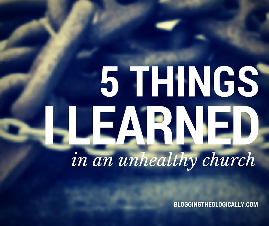 five-things-unhealthy-church