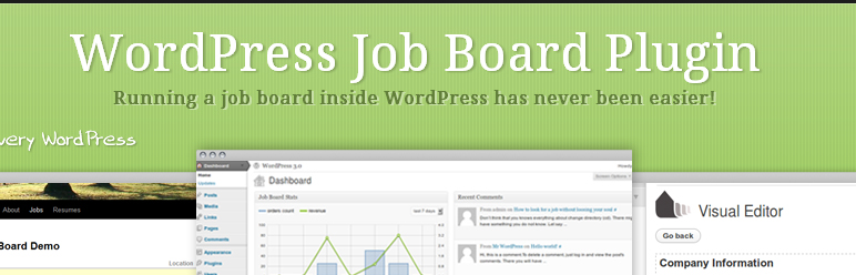 wordpress job board plugin cv