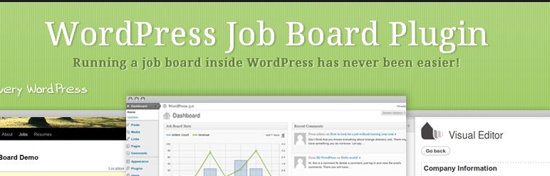 wordpress job board plugin cv
