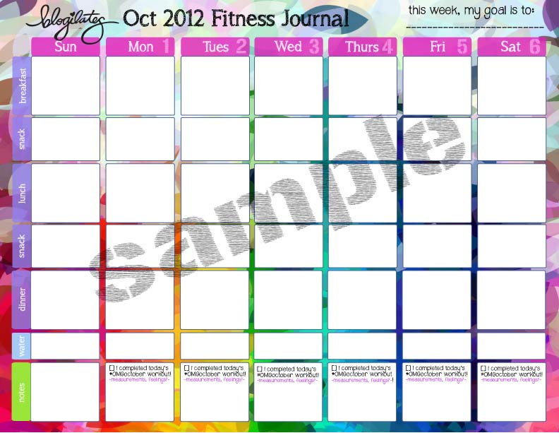 fitness journal Archives \u2013 Blogilates