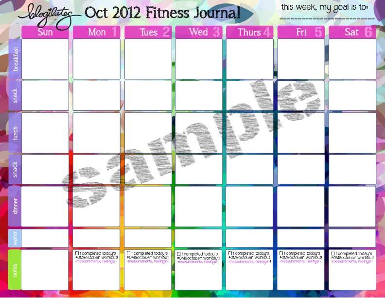 Calendar Sample Workout Calendar Weekly Workout Schedule To - sample workout calendar