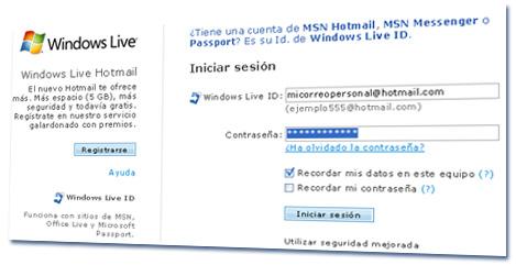 Cómo recuperar una cuenta de correo MSN Hotmail