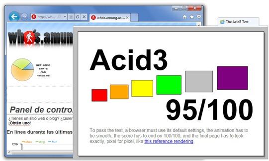 Pestañas en Internet Explorer 9 Beta