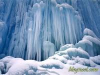 Fond d'écran de paysages enneigés