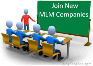 Join New MLM Companies