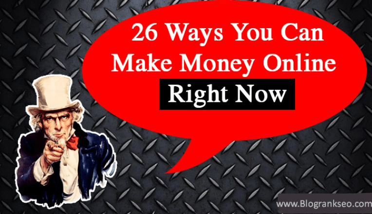 Make Money online Right Now