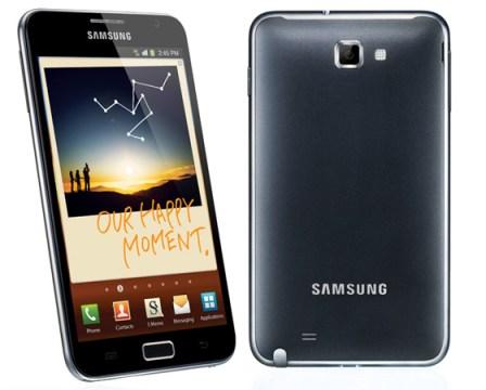 Samsung Galaxy  Note Snap Shot