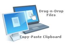 remote File & Clipboard transfer