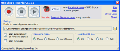Free-MP3-Skype-Recorder