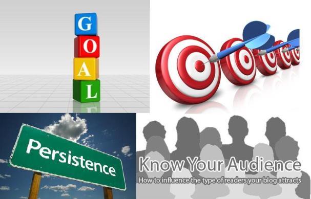 Blogging Goal ,Consistency ,Persistency