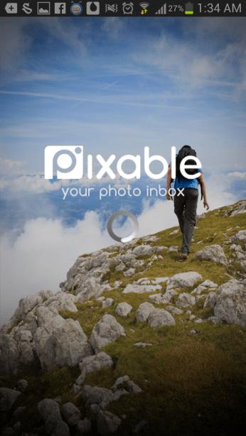 Pixable Facebook login
