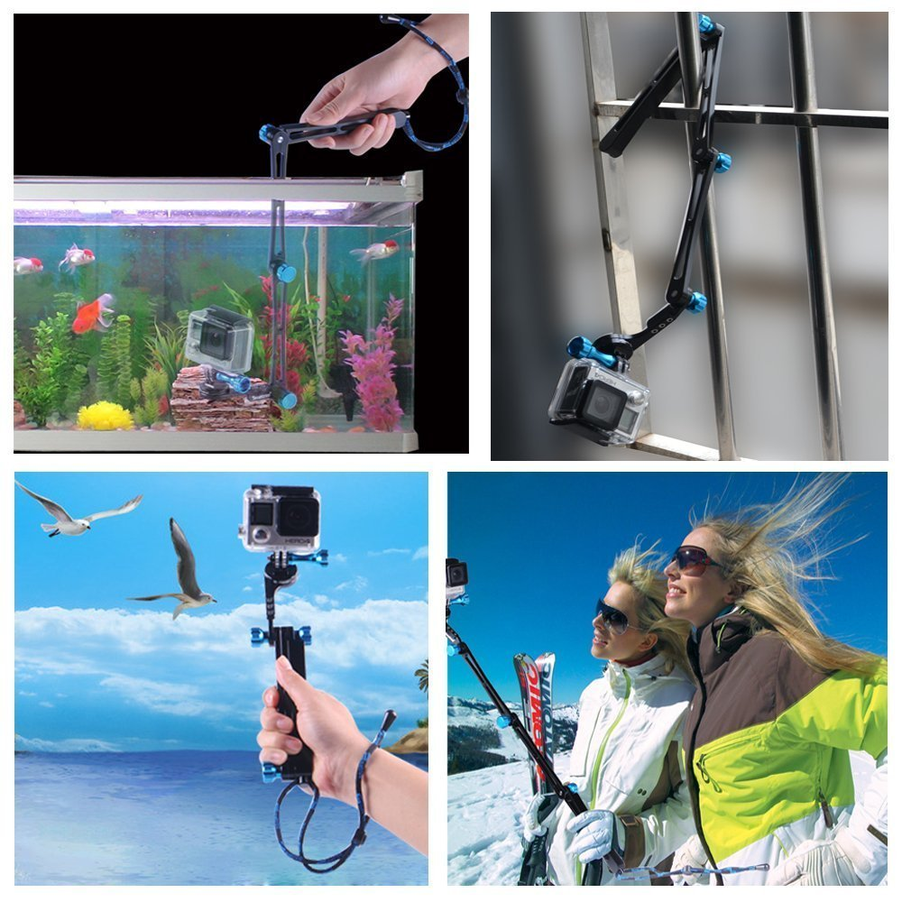 4 accessori indispensabili per GoPro e Action Camera