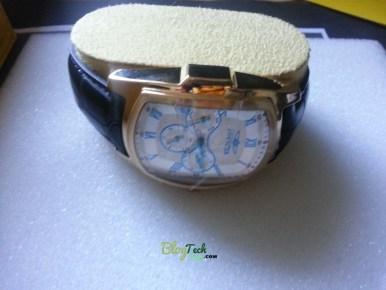 Invicta men's 12642 Lupah Quartz 3 Hand Silver Dial Watch